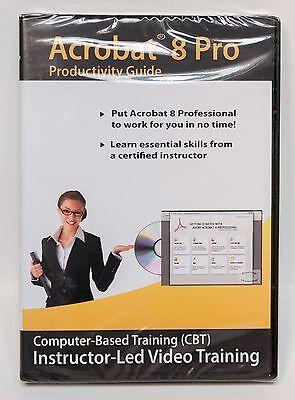 Amazing Elearning Adobe Acrobat 8 Pro Cbt Instructor Led Video Training Lessons