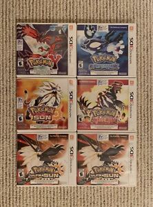 POKÉMON GAMES FOR NINTENDO 3DS