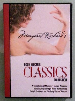 margaret richard's BODY ELECTRIC CLASSICS COLLECTION   DVD 2 disc set