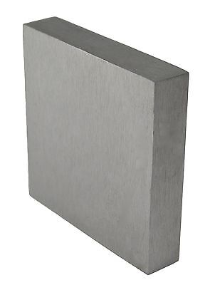 "STEEL BENCH STEEL BLOCK HARDENED METAL WORKING ANVIL 4"" SQUARE 3/4"" THICKNESS"