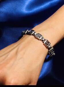 Vintage Sterling silver Bracelet Designer SGO