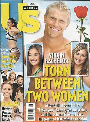Us Weekly Magazine The Bachelor Kourtney Kardashian Oscars Janel Parrish Fashion