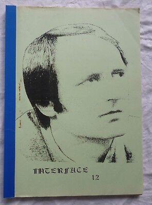 Blake's Seven 7 Vintage Fanzine: Interface # 12   1989