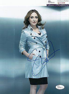 Sasha Alexander Signed  Rizzoli   Isles  Maura 8X10 Photo Jsa Coa Q30629