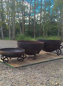 Cowboy cauldrons crusher cones & fire bowls