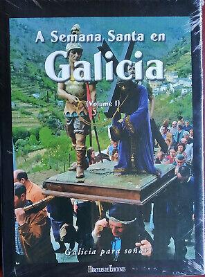 LIBRO A SEMANA SANTA EN GALICIA VOLUMEN 1 ED LUJO 2008 HERCULES...