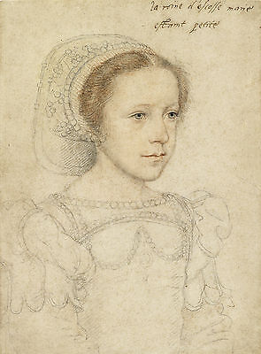 European Master Drawings  Mary Stuart  Queen Of Scots   Art Print