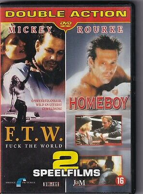 DVD : F.T.W. (1994) + Homeboy (1988) Mickey Rourke