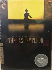 CRITERION COLLECTION - THE LAST EMPEROR DVD BOX SET