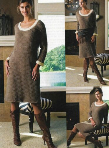 DAWN TIL DUSK SWEATER DRESS 6 SIZES WOMEN