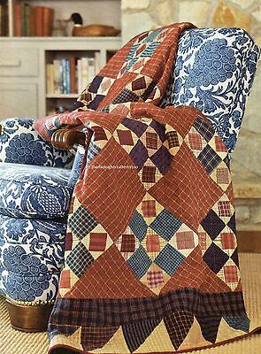 Plaid Tidings Quilt Pattern Pieced/Paper Pieced KH