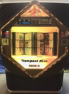 Vintage Compact Disk Rowe AMI Jukebox