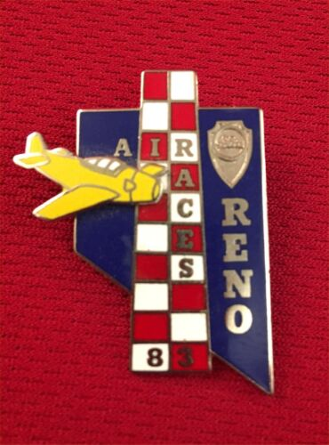 Vintage Reno Air Races Pin 1983