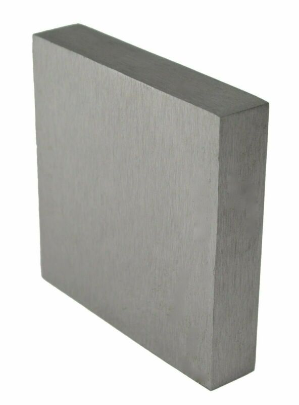 "4"" x 4"" x 3/4"" Steel Bench Block Jewelry Making Metal Formi Hammer Stamp Surface"