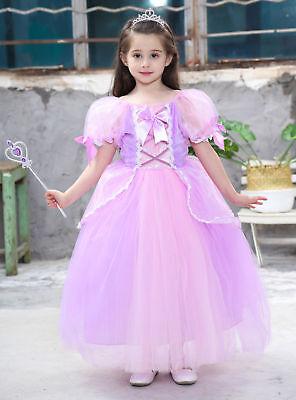 Princess Sofia Kids Fashion Baby Girls Clothing Halloween party Sophia Cosplay](Sofia Halloween)