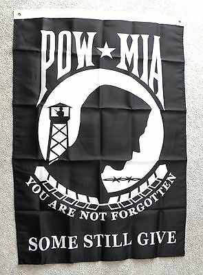 POW MIA YOU ARE NOT FORGOTTEN USA POLYESTER BANNER FLAG 29 X 42""