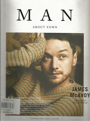 MAN ABOUT TOWN MAGAZINE #13 AUTUMN/WINTER 2013-14 JAMES McAVOY