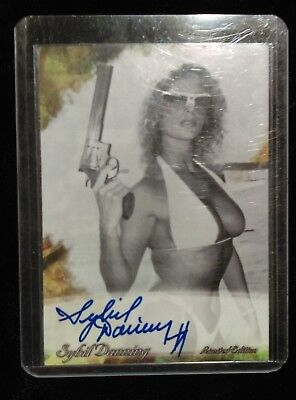 Sybil Danning TRADING CARD Signed AUTOGRAPHED COA