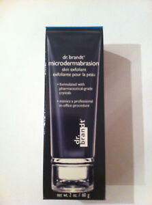 DR BRANDT MICRODERMABRASION SKIN EXFOLIANT FACE 2 OZ  NEW IN BOX FRESH