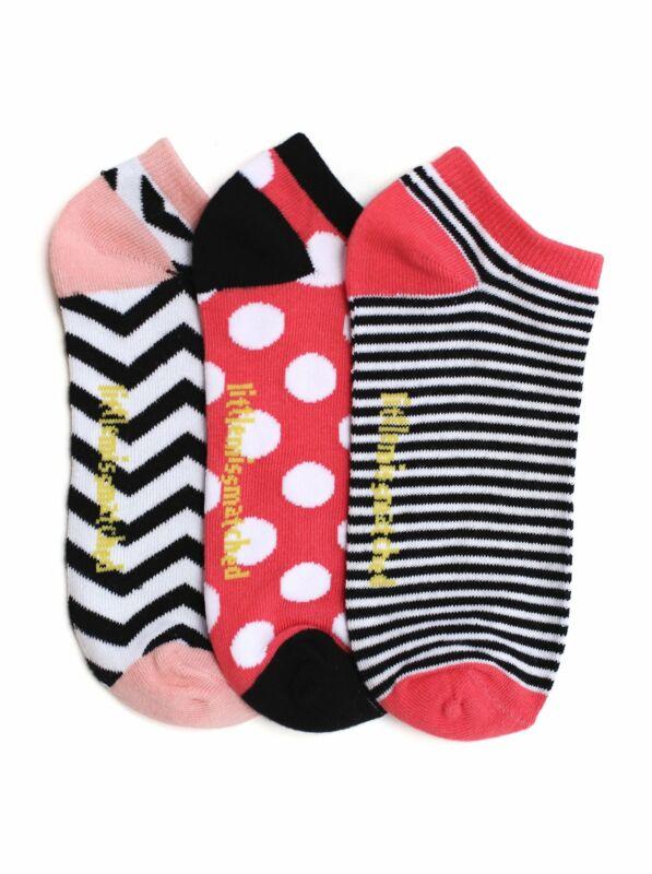 LittleMissMatched Fabulous Herringbone Liner Socks - 3 Socks
