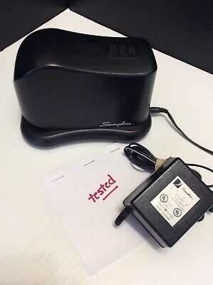 Swingline Electric Battery Desk Office Stapler Wac Power Cord Model 211xx Black