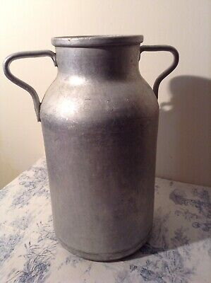Vintage French Milk Churn - Vase, Garden Planter, Umbrella, Coal Scuttle (3755)