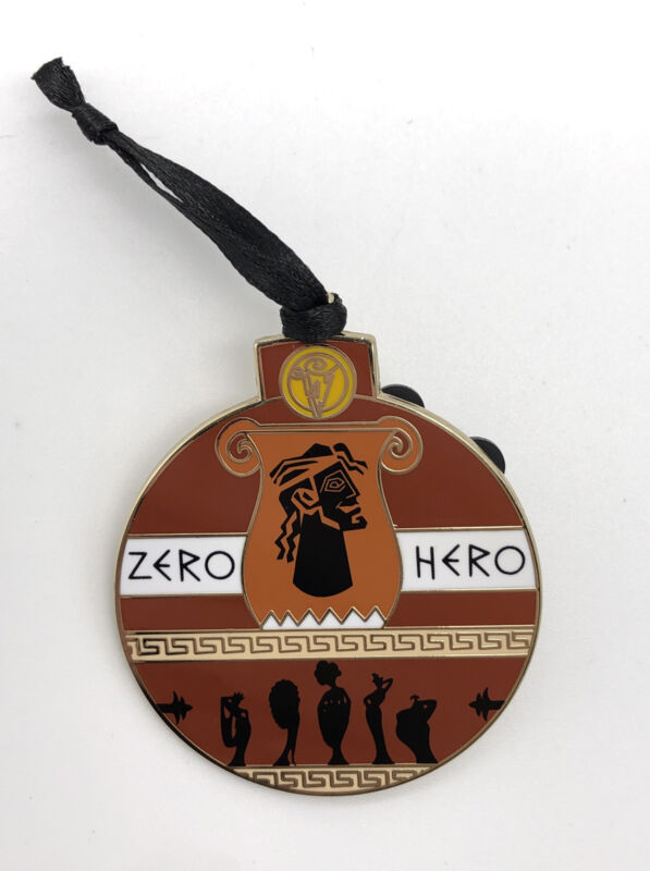 Disney Parks 2020 Advent Calendar Christmas Ornament LR Pin - Hercules Zero Hero