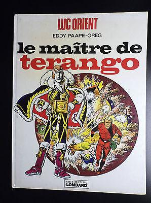 Luc Orient le Maitre de Terango Réed 1978 Paape Greg