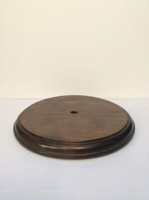 "8"" Wood Lamp Base"