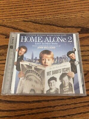 Home Alone 2: Lost in New York 2 CDs Expanded Score Soundtrack Limited to