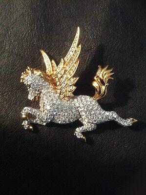 SWAROVSKI FLYING HORSE CYSTAL RETIRED AND RARE
