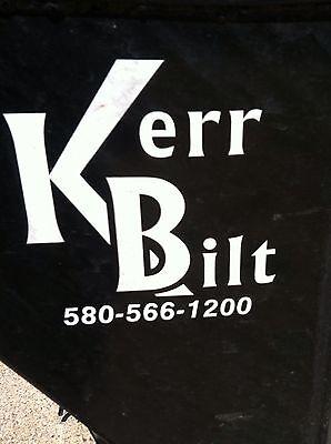 Kerr-bilt Junk Kerrbilt Gooseneck Tilt Trailer Flatbed Hydraulic Container Look