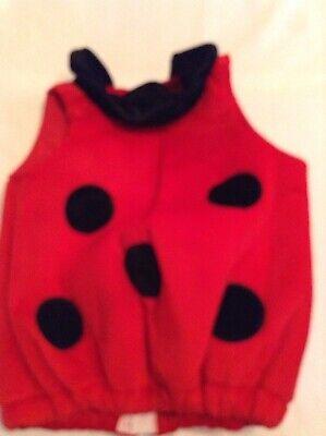 Ladybug Halloween Costume Accessories (Infants ladybug costume up to 24 mo. Fun Worldbaby  red no accessories)