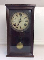 Antique Sessions Miniature Store Regulator Wall Clock
