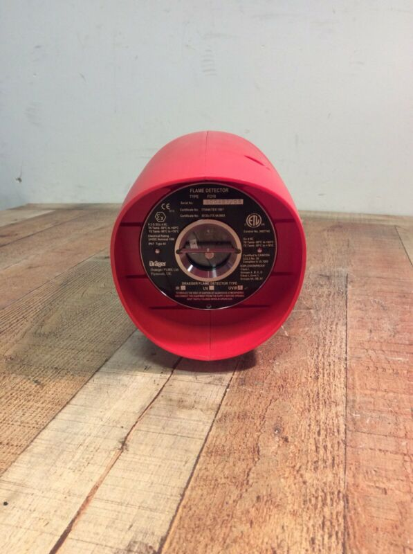 Drager Flame Detector -UVIR- Brand New