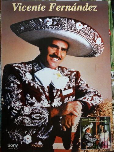 Vintage Poster VICENTE FERNANDEZ - Recordando a Los Panchos (1994)