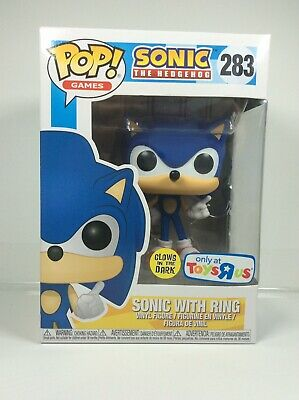 Funko Pop Sonic With Ring Toys R Us Exclusive GITD Glow