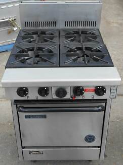 GOLDSTEIN GAS 4 BURNER STOVE WITH OVEN WORKING ORDER