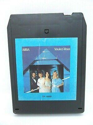 ABBA Voulez-Vous  8 Track Tape Atlantic Records 1979