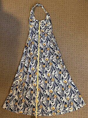 Vintage Christian Dior Miss Dior Halter Top Dress, Boho,Size S? No Size Tag.