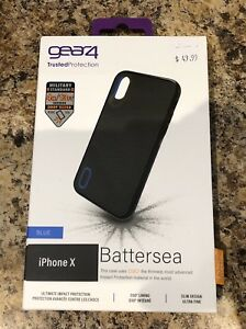 Gear 4 Battersea D30 Case for iPhone X (NEW)