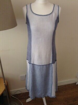 Vintage KENZO JEANS Dress Made In Paris Size 10