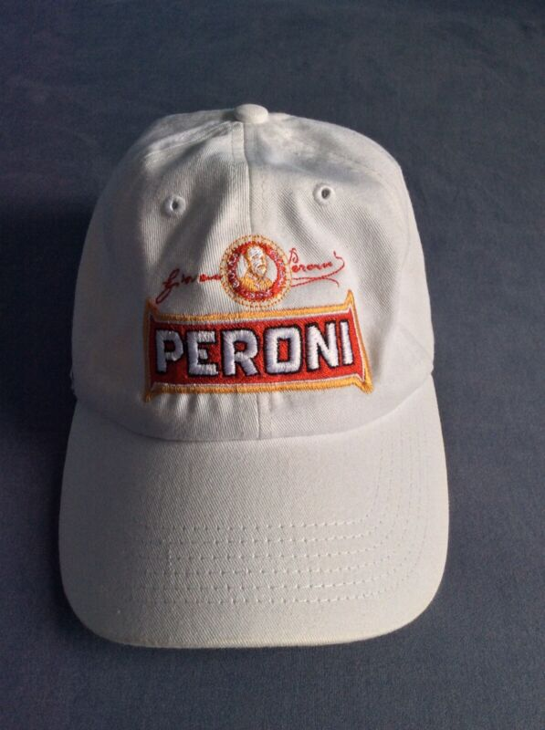 Peroni Red Adjustable Hat (Embroidered)