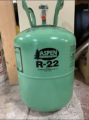 New Sealed Aspen R-22 R22 Refrigerant 30 lb Lbs 30lb 30lbs Cylinder Freon
