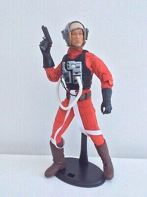 Star Wars Rebel B-Wing Pilot Custom 1/6 Scale Action Figure Loose