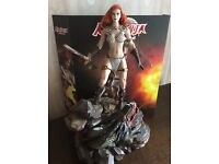1//6 Scale Red Sonja Scars of The She-Devil Axe Gloved Hands Peg Type