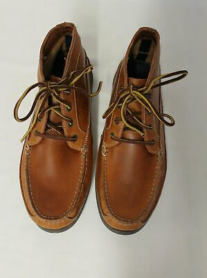 Sperry® for J.Crew Leather Chukka Boots Shoe Brown Size 8 M
