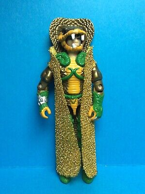 VINTAGE G.I. JOE HASBRO ACCESSORY-CUSTOM SERPENTOR METALLIC GOLD CAPE..