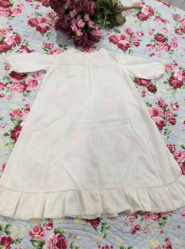 Vintage Antique Baby Long Gown Dress