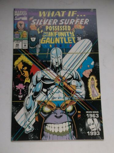 MARVEL: WHAT IF...THE SILVER SURFER POSSESSED THE INFINITY GAUNTLET #49, NM-!!!